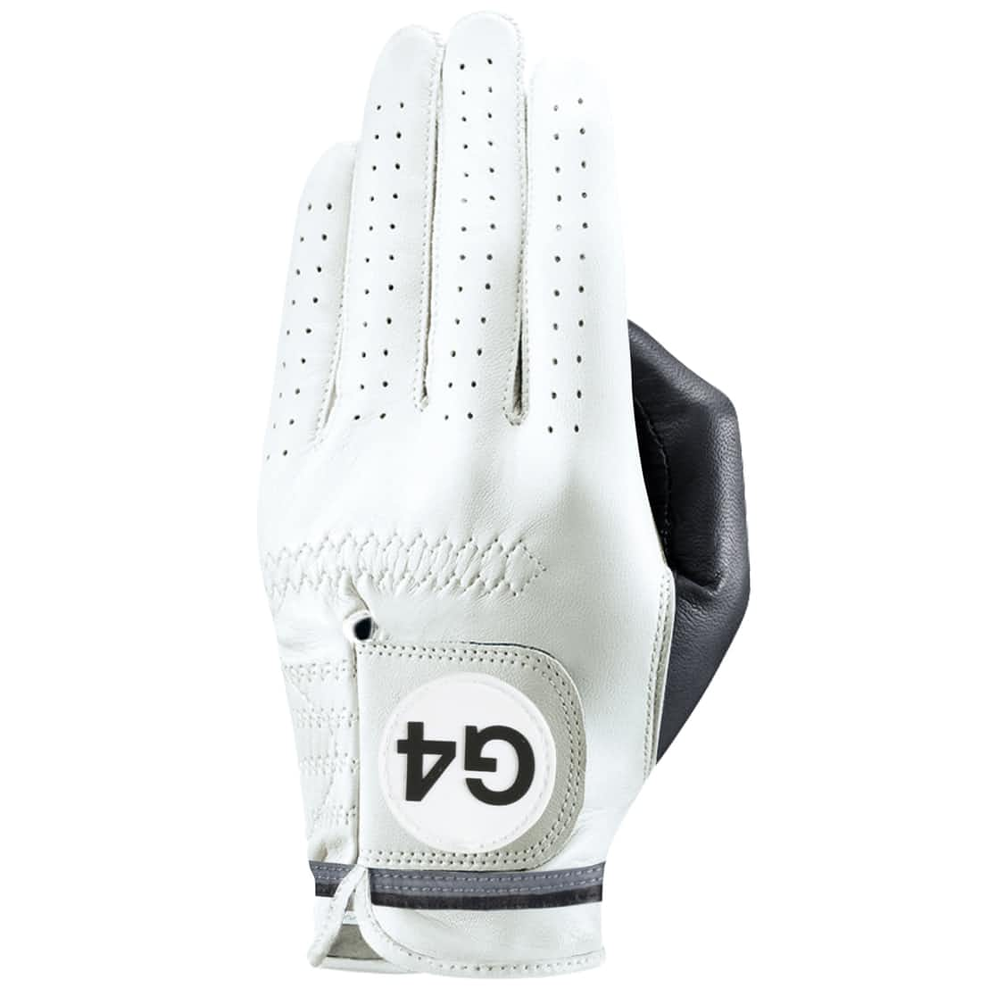 x TRENDYGOLF Mens G4 Competition Stripe Left Glove Off White - 2019