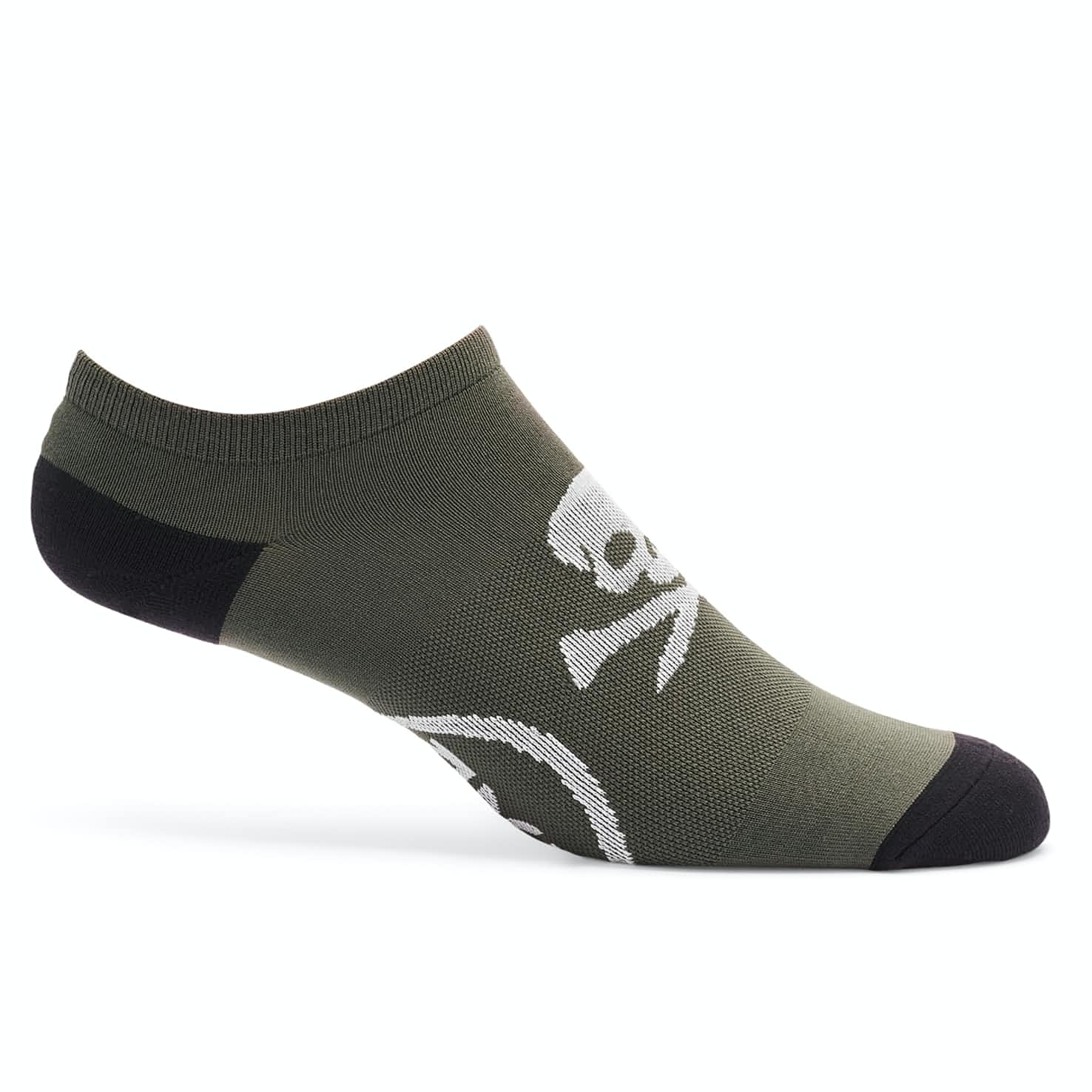 Skull & T's Low Sock Charcoal - AW19