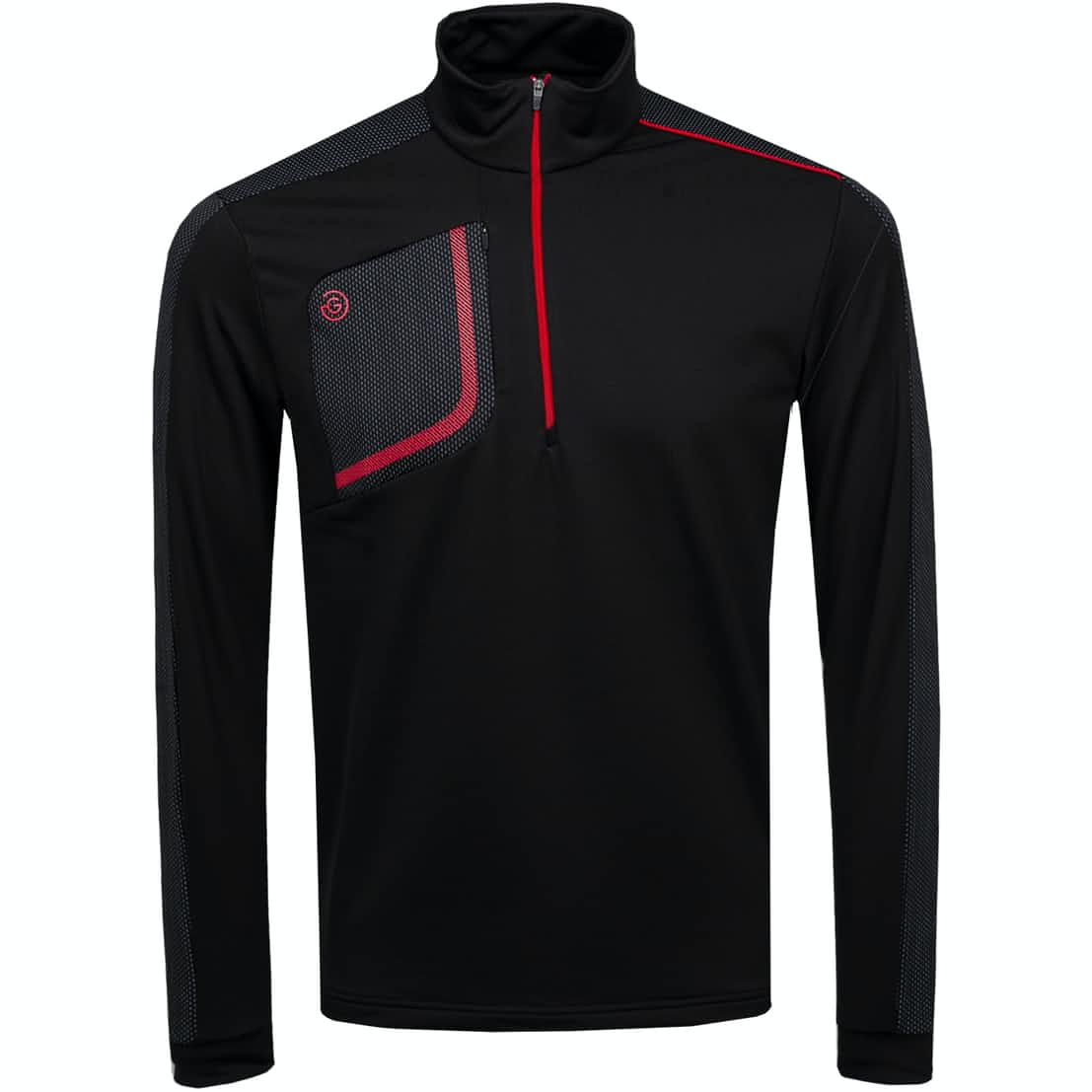 Dwight HZ Insula Jacket Black/Red - 2020