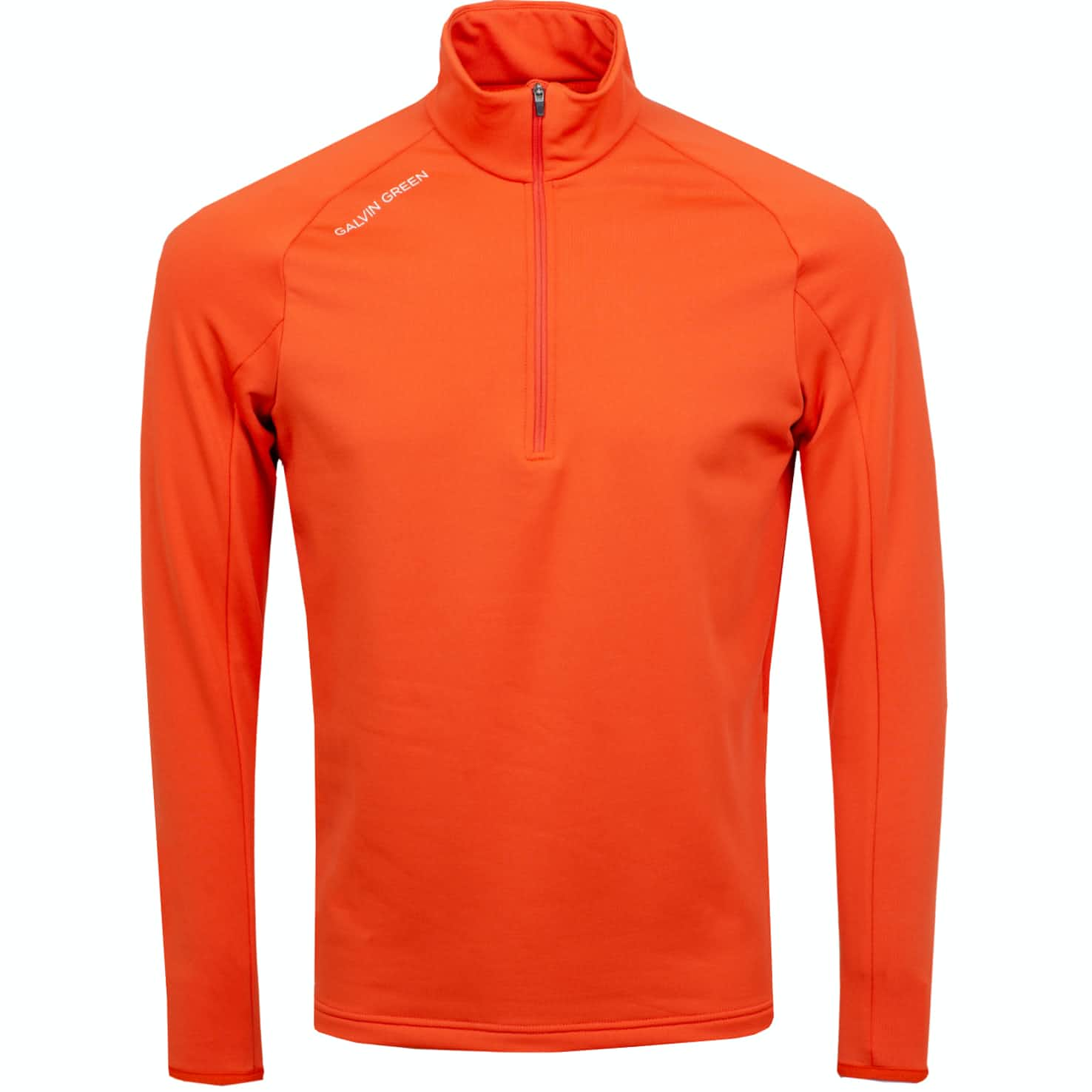 Galvin Green Drake Insula HZ Pullover Rusty Orange - AW19