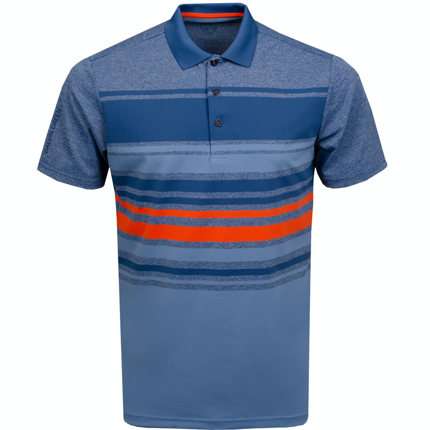 Miguel Ventil8+ Polo Ensign Blue/Faded Denim - AW19