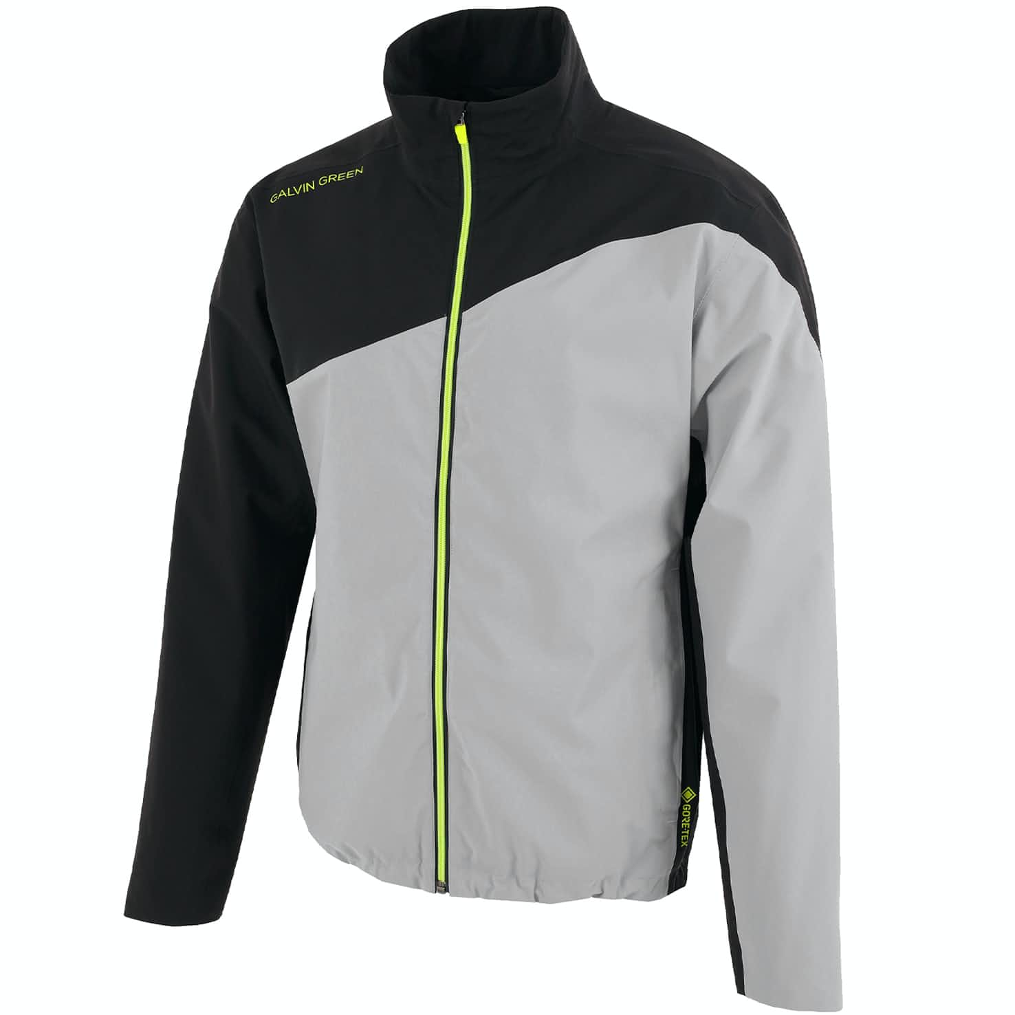 Aaron Gore-Tex Jacket Sharkskin/Black/Lime - 2020
