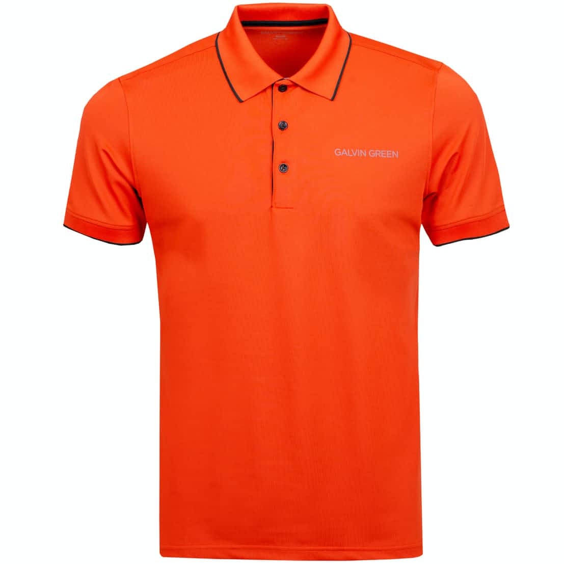 Marty Tour Ventil8+ Polo Rusty Orange/Ensign Blue - AW19