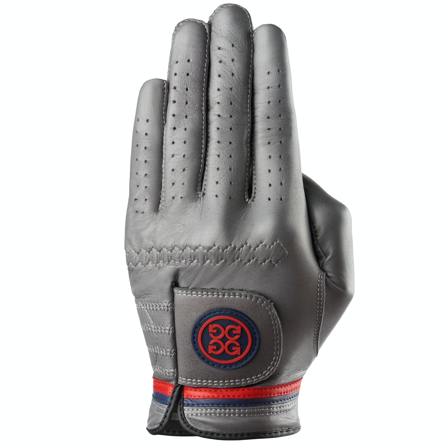 Competition Stripe Left Glove Charcoal/Garnet - AW19