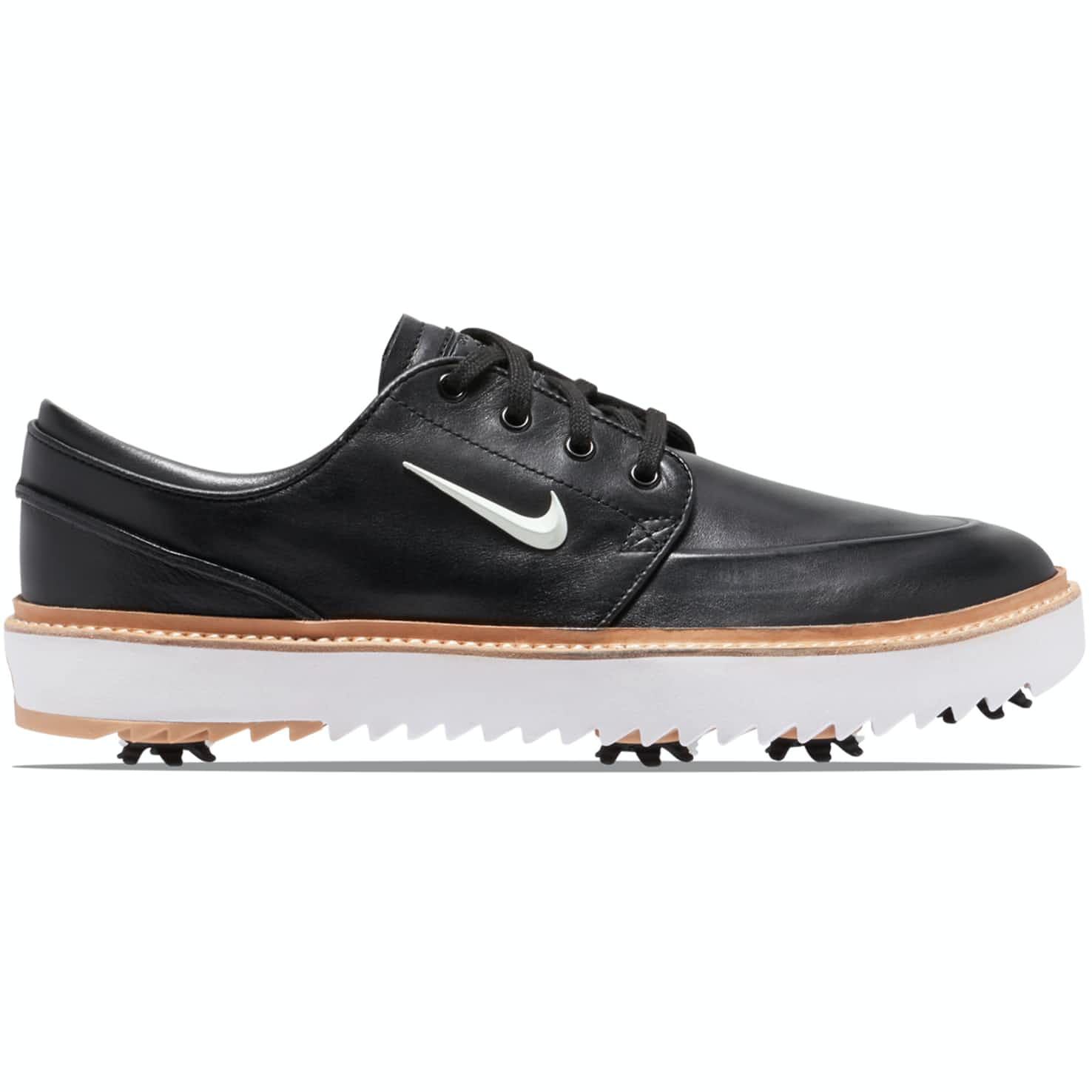 Janoski Golf Tour Black/Metallic White/Vachetta Tan - AW19