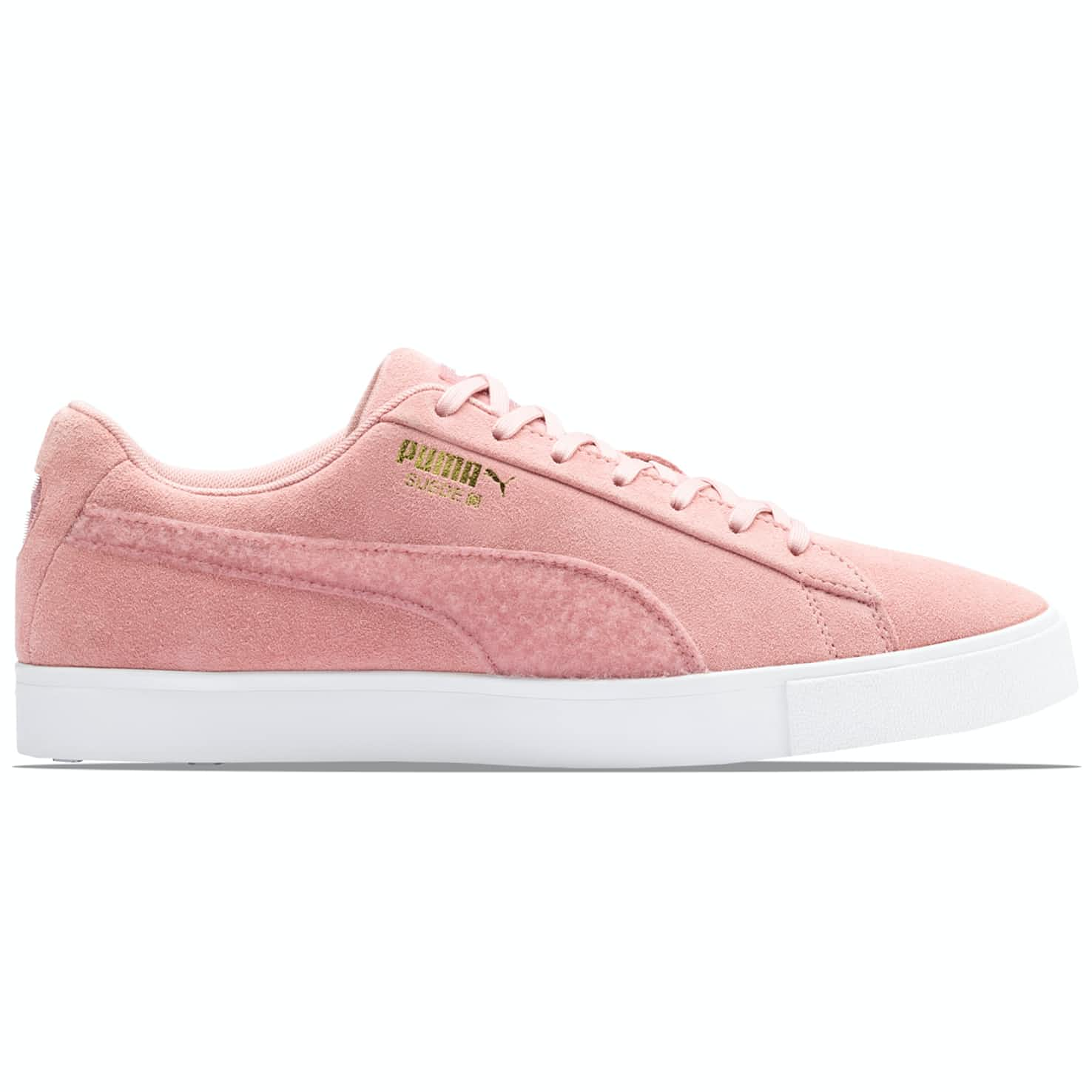 LE Suede Golf Patch Bridal Rose - AW19