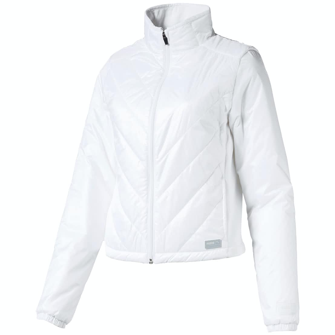 Womens Quilted Primaloft Jacket Bright White - AW19