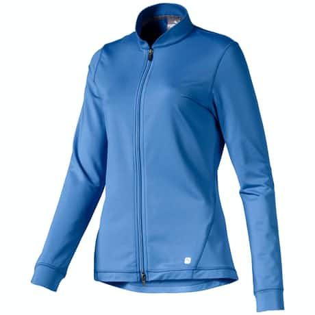 Womens Full Zip Knit Jacket Ultramarine - AW19