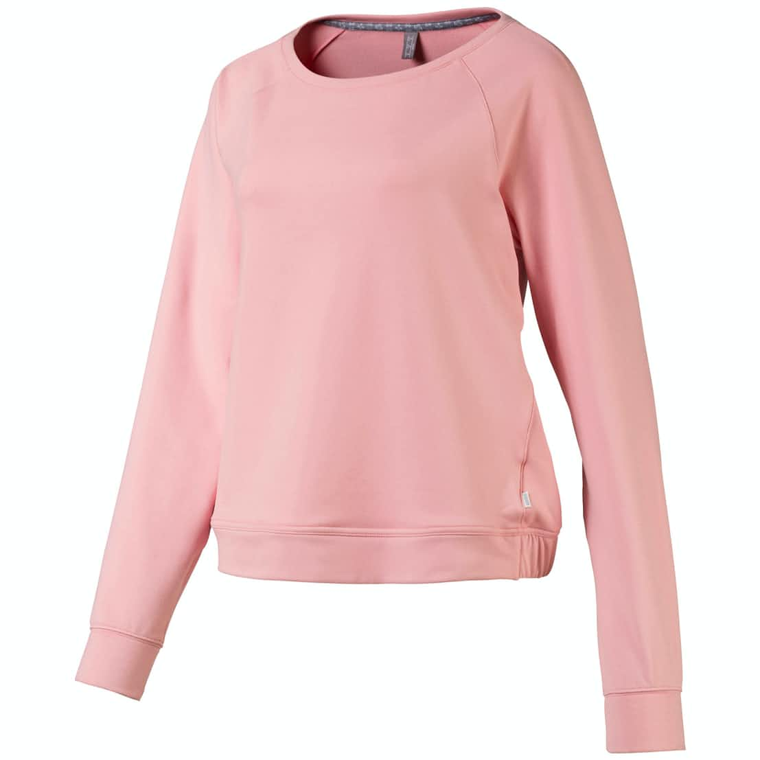 Womens Crewneck Fleece Bridal Rose - AW19