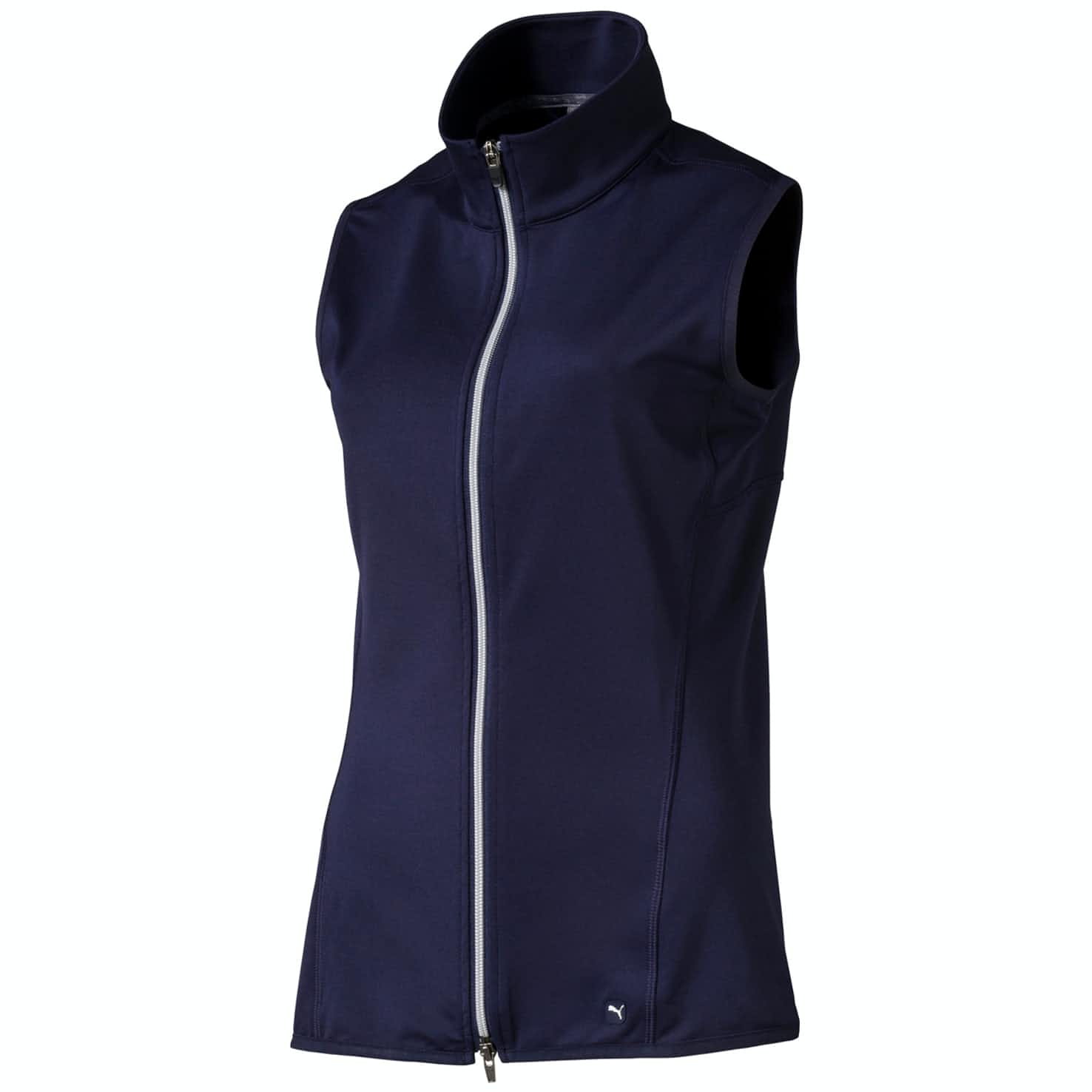 Womens Full Zip Knit Vest Peacoat - AW19