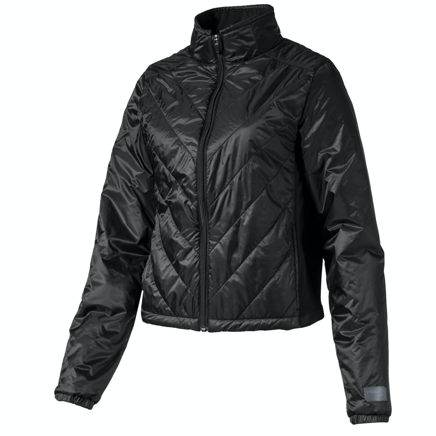 Womens Quilted Primaloft Jacket Black - AW19