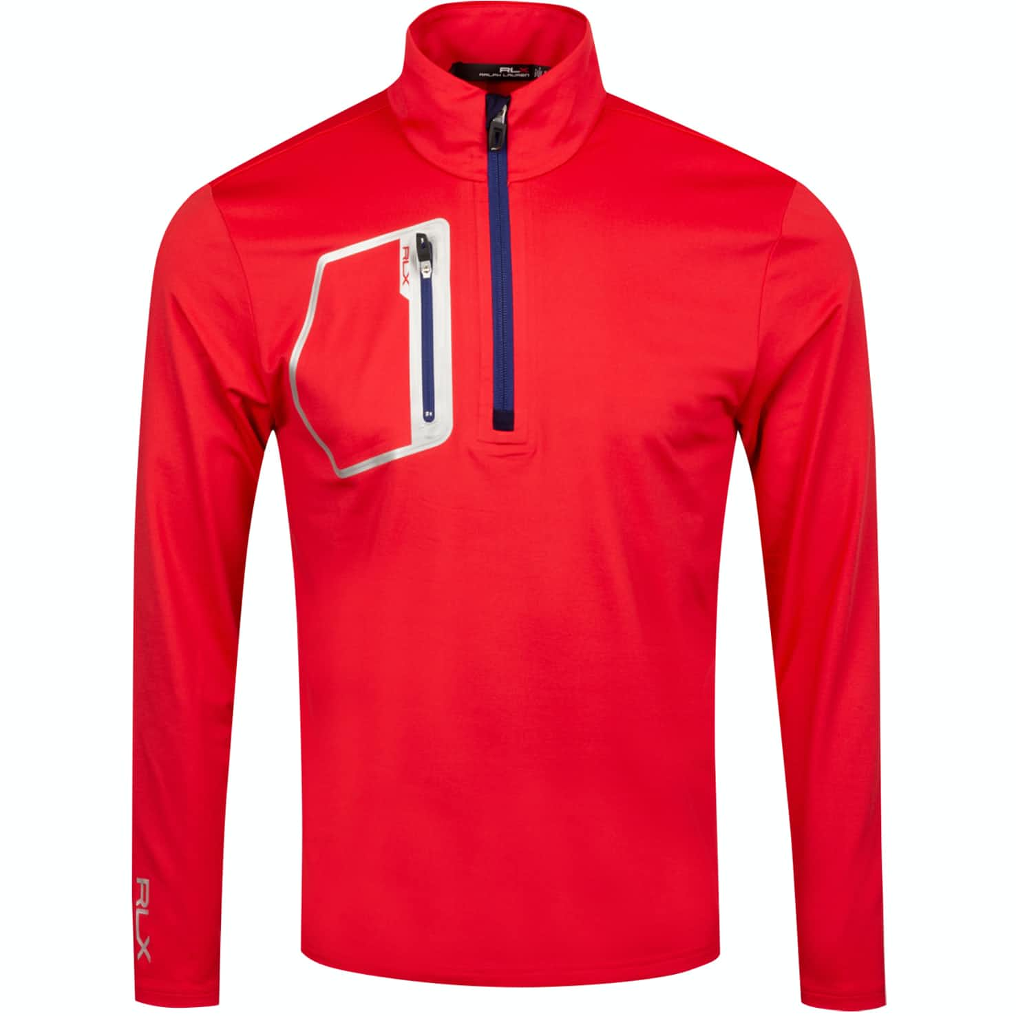 Brushback Tech Jersey Deep Orangey Red - AW19