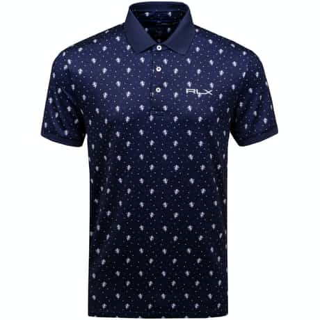 Printed Lightweight Airflow Polka Lions Navy - AW19