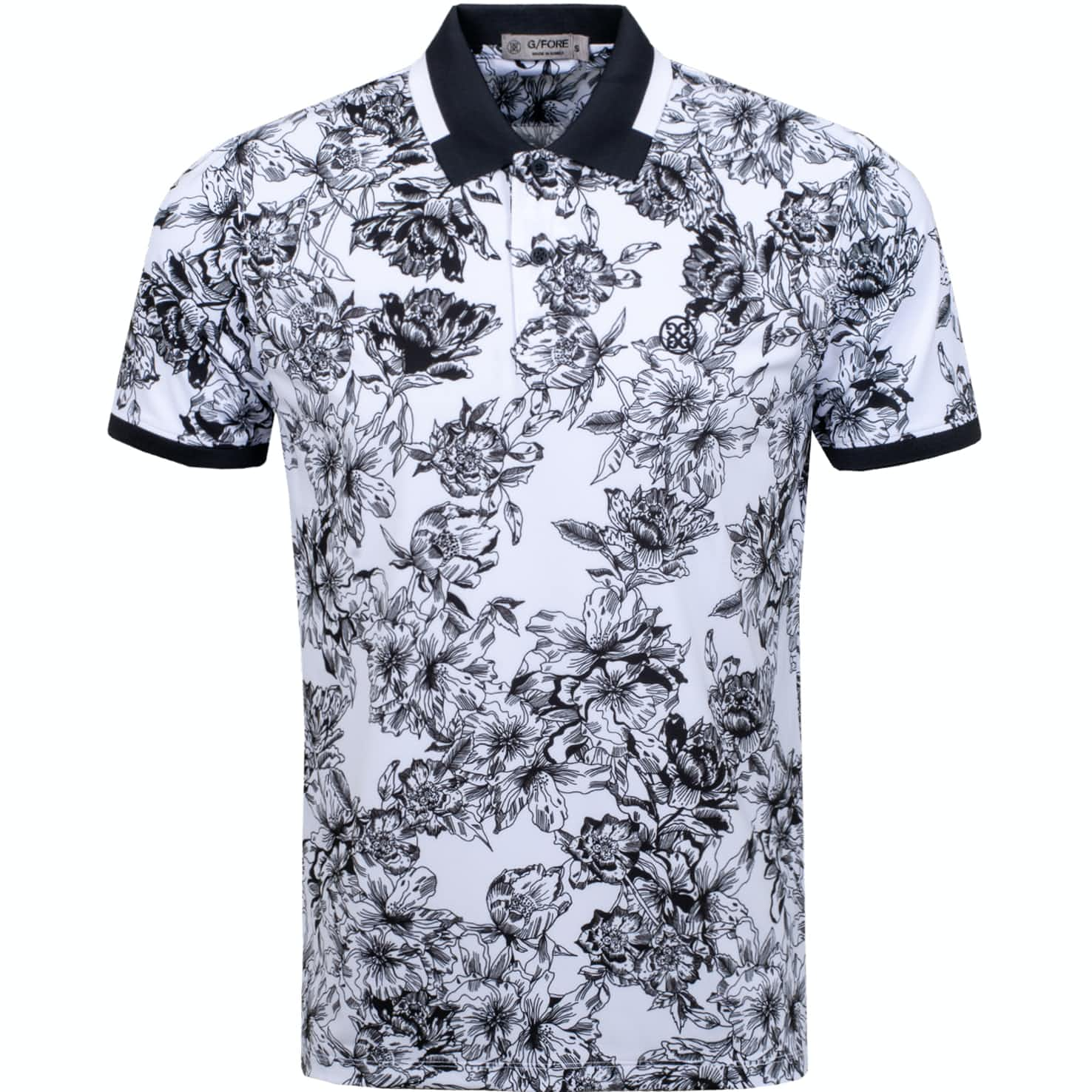 Floral Printed Polo Snow - AW19