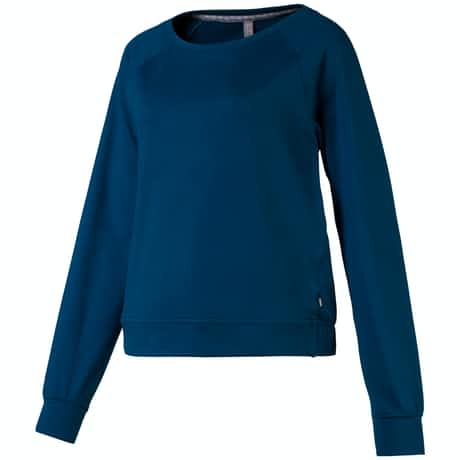 Womens Crewneck Fleece Gibraltar Sea - AW19
