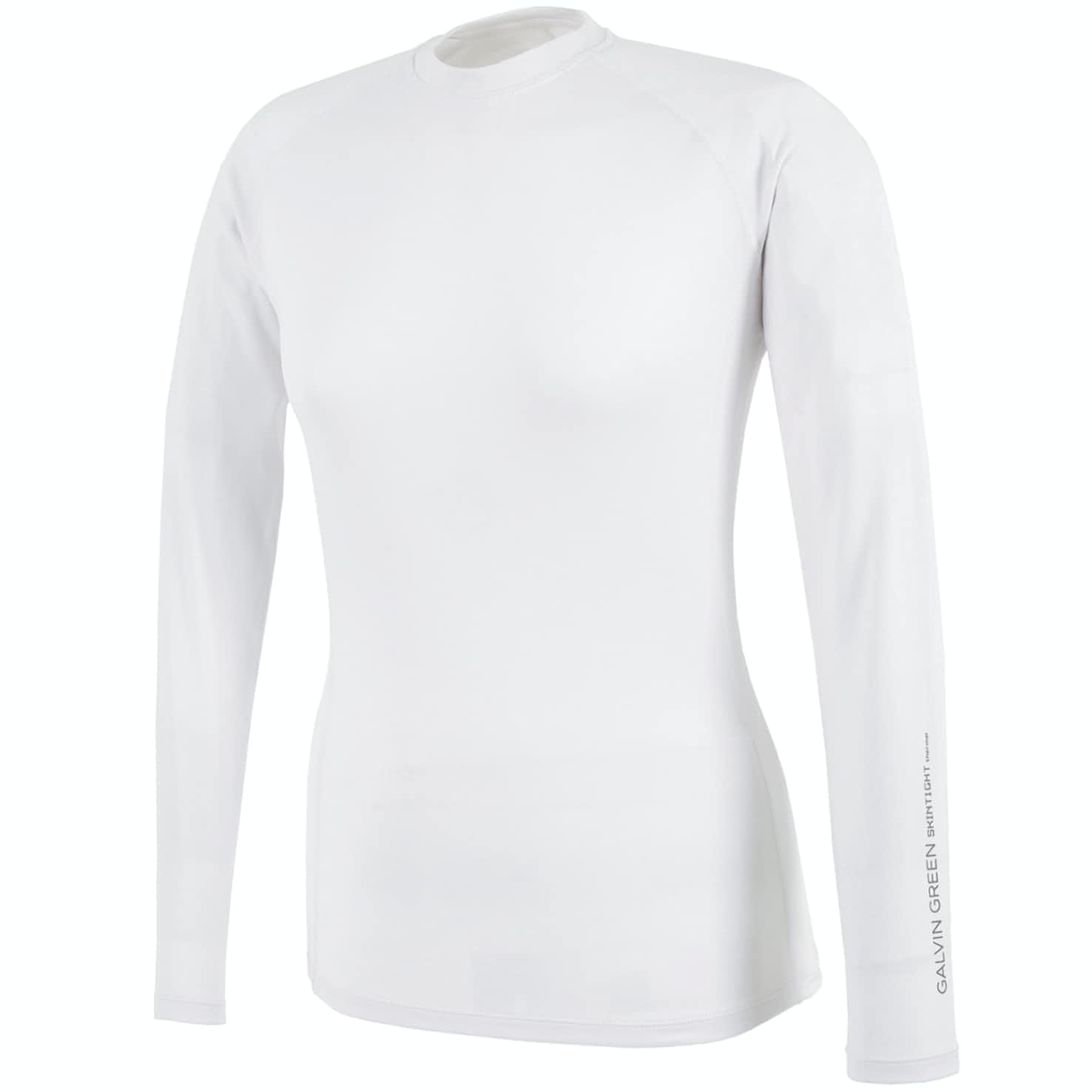 Womens Elaine Crew Neck Skintight Thermal White - 2020