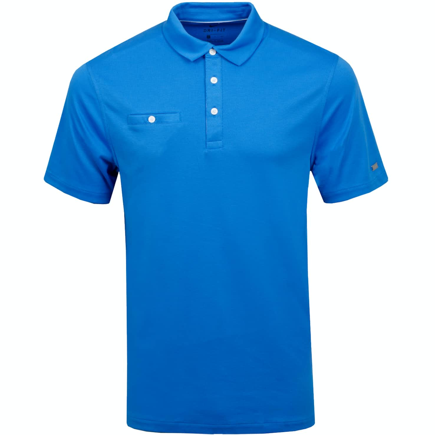Dri-Fit Player Solid Polo Light Photo Blue/Brushed Silver - AW19