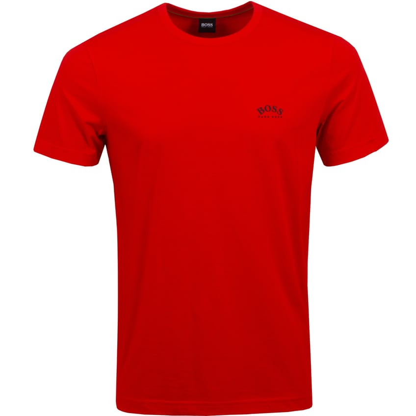 Tee Curved Fiery Red - SS21