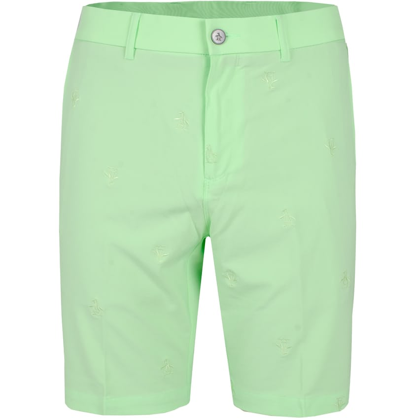 Allover Pete Embroidered Shorts Paradise Green - SS21