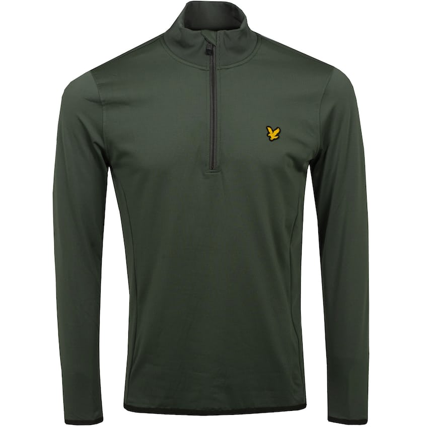 Tech Quarter Zip Midlayer Cactus Green - SS21