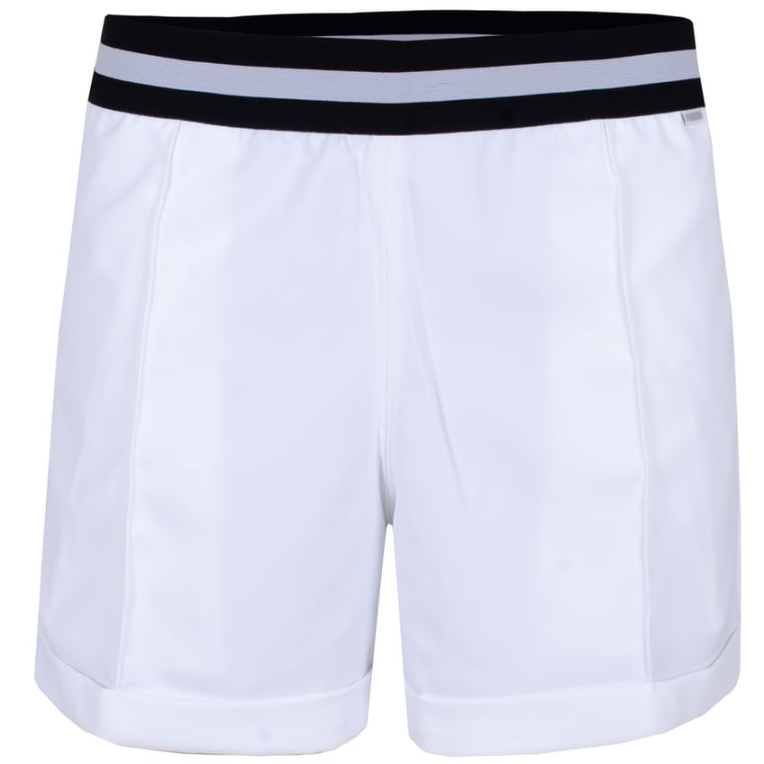 Womens Elastic Short Bright White - SS21