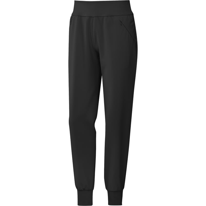Womens Stretch Woven Jogger Black - SS21