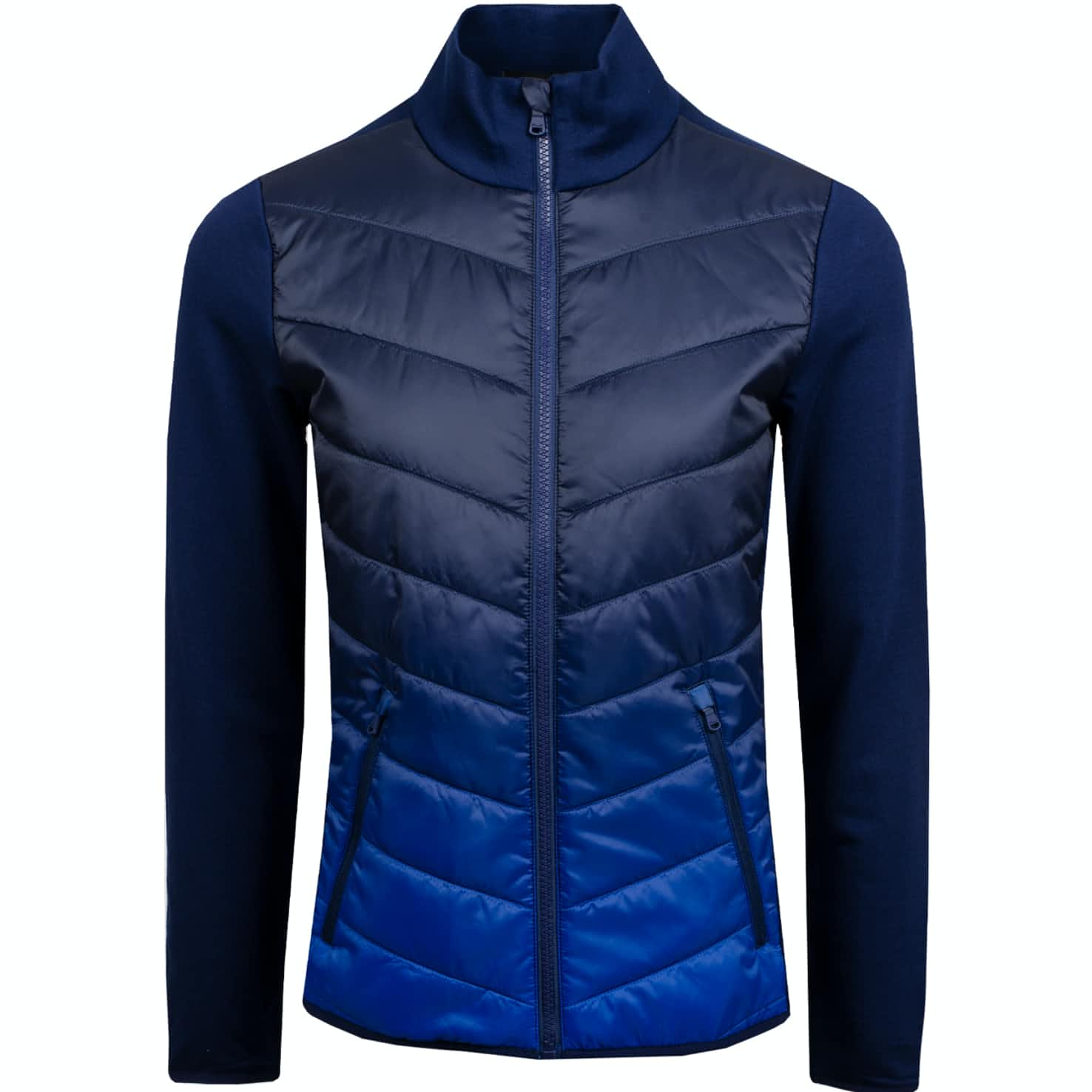 Womens Cool Wool Jacket French Navy Ombre - AW19