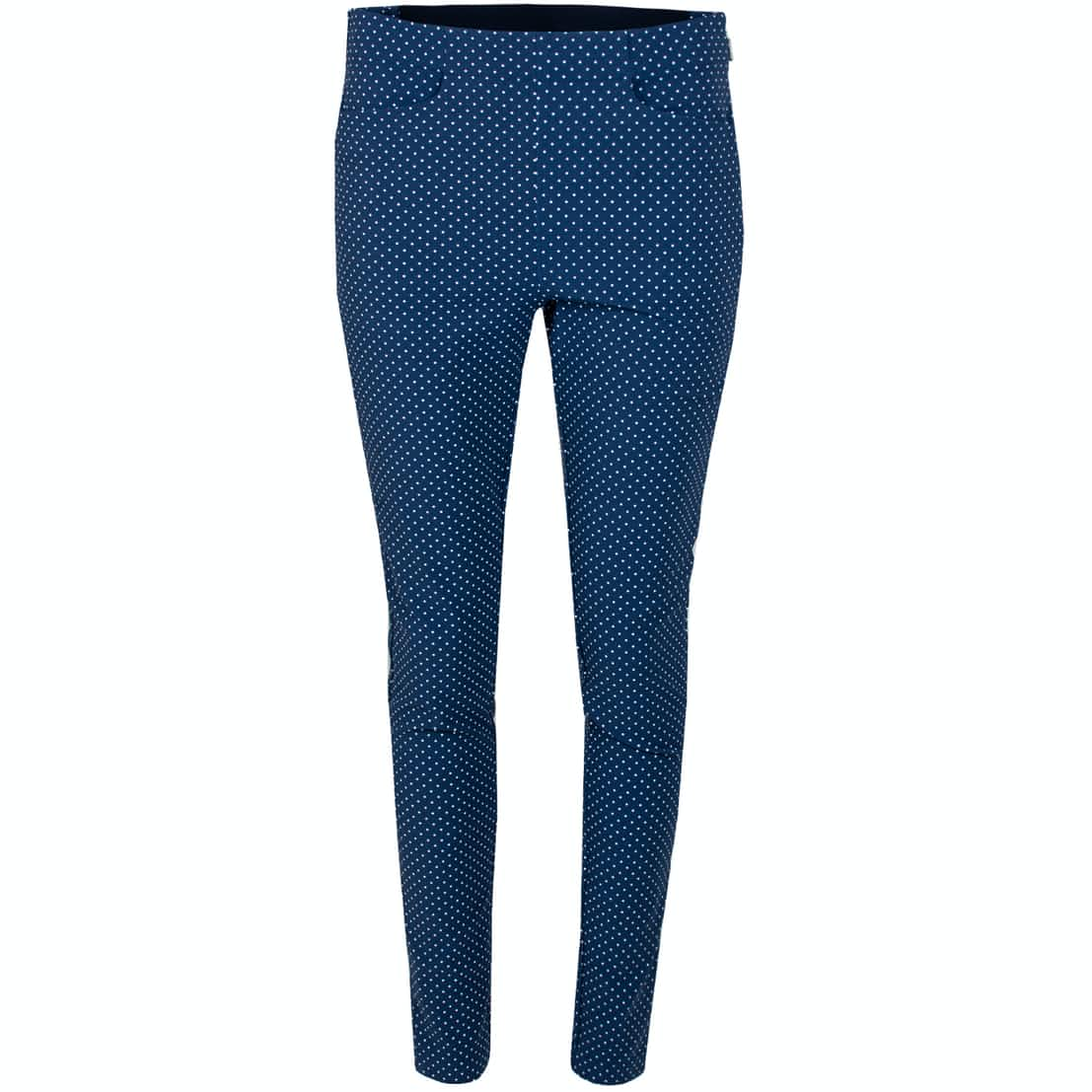 Womens Printed Eagle Pants Navy Dot - AW19