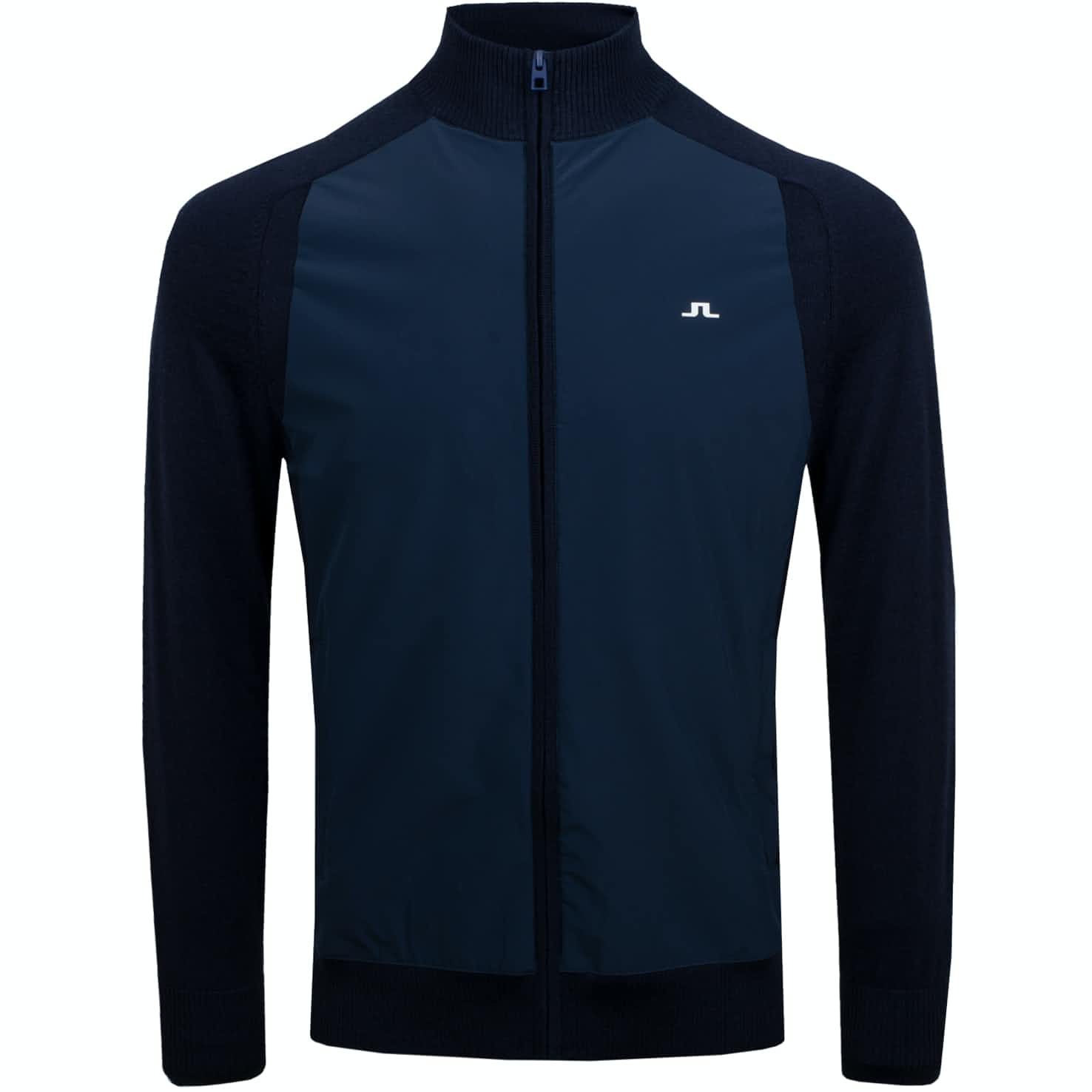 Knitted Hybrid Lux Softshell Jacket JL Navy - AW19