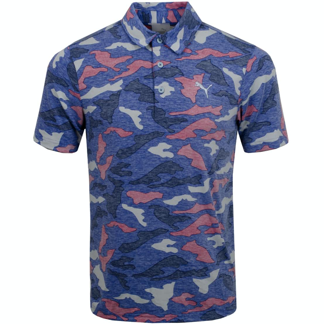 Raleigh Polo Dazzling Blue Heather - AW19