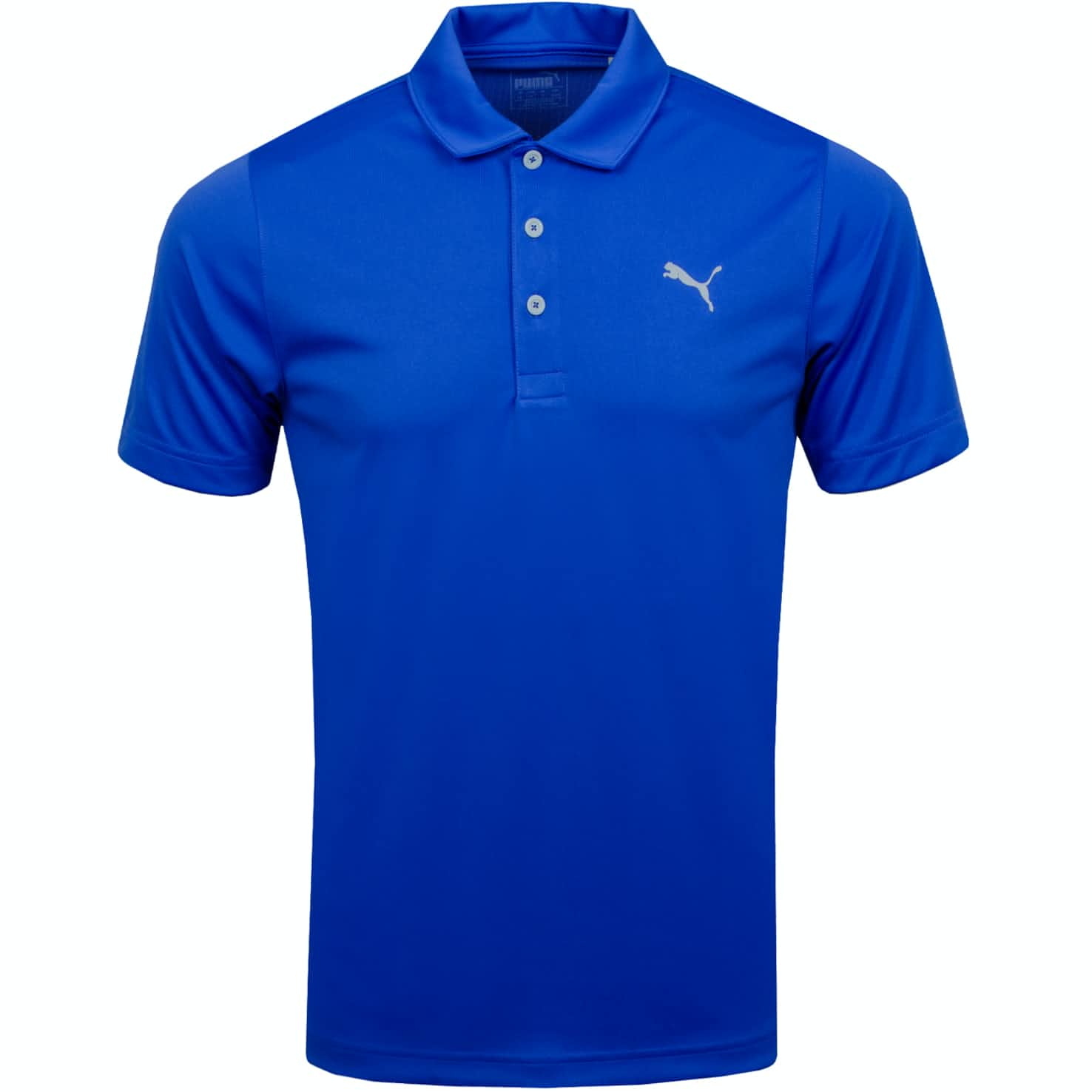 Rotation Solid Polo Dazzling Blue - AW19