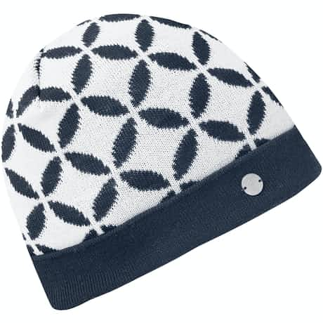Womens Lina Interface-1 Bobble Hat Navy - AW19