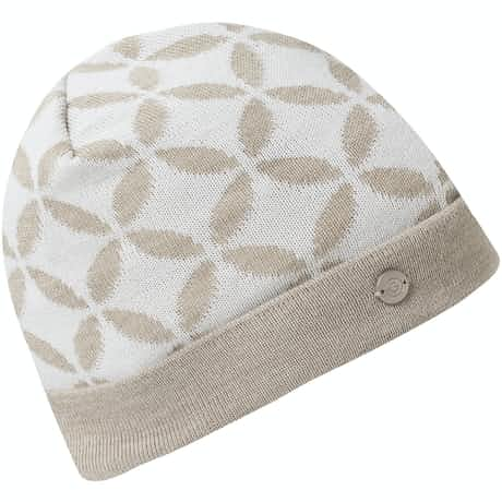 Womens Lina Interface-1 Bobble Hat Chalkstone - AW19