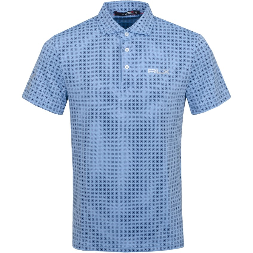 Printed Lightweight Airflow Blue Lagoon Course Deco - SS21 0