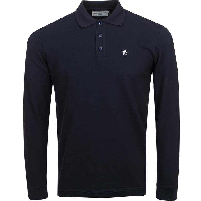 LS Play Well Polo Navy - SS21