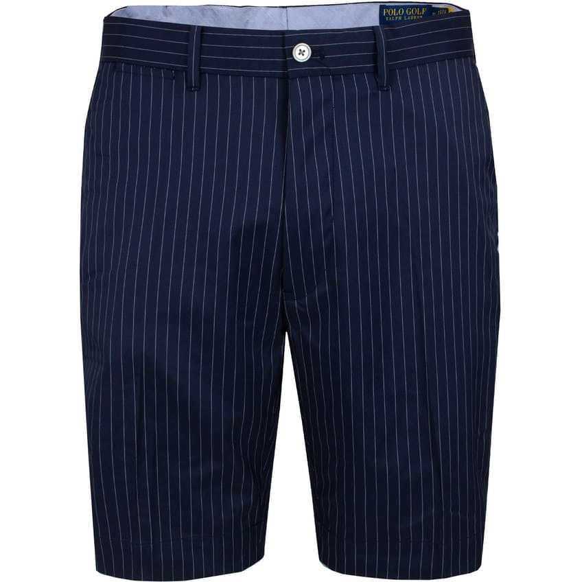 Coolmax Yarn Dye Tailored Fit Short French Navy Pinstripe - SS21