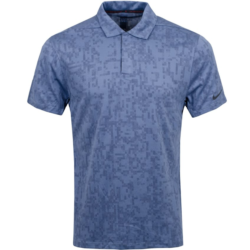 TW Dri-Fit Novelty Polo Obsidian/Diffused Blue - Summer 21