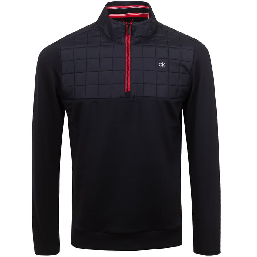 Vardon Hybrid Half Zip Jacket Black - SS21