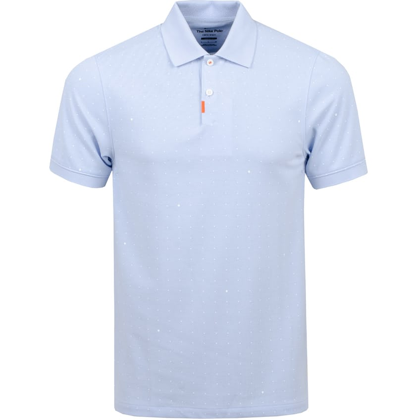 The Golf Slim Space Dot Polo Hydrogen Blue - Summer 21 0