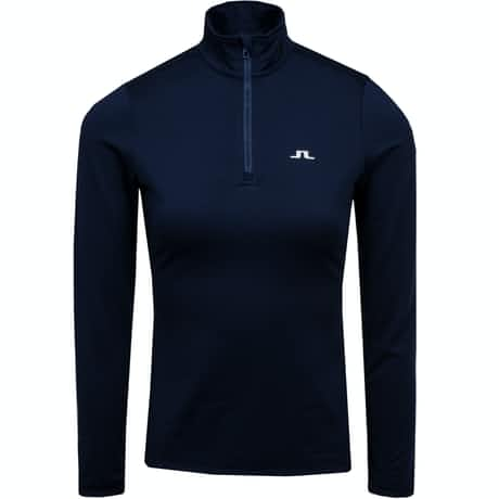 Womens Kimball Half Zip Light Peach JL Navy - AW19