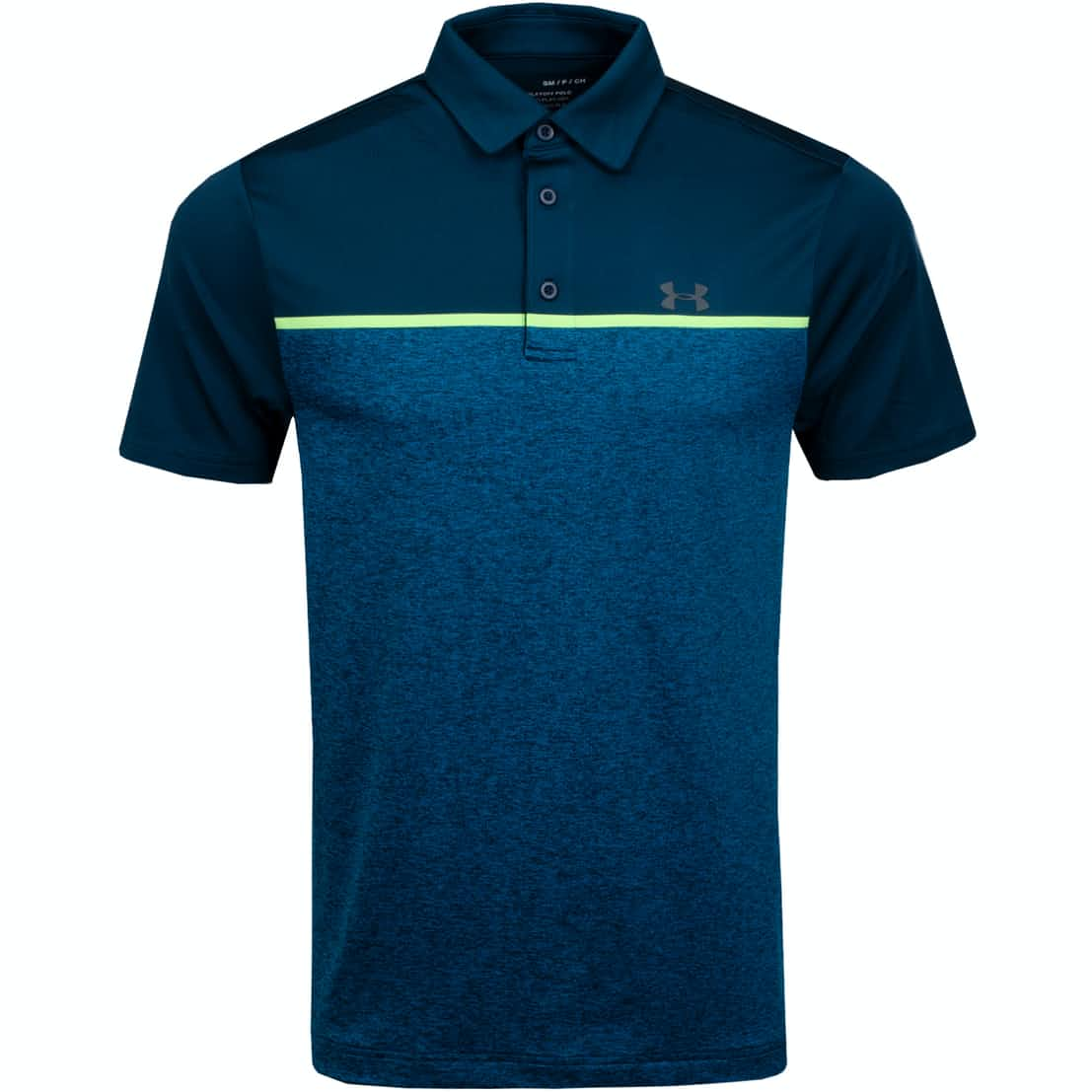 Playoff Polo 2.0 Tandem Teal/Pitch Grey - AW19