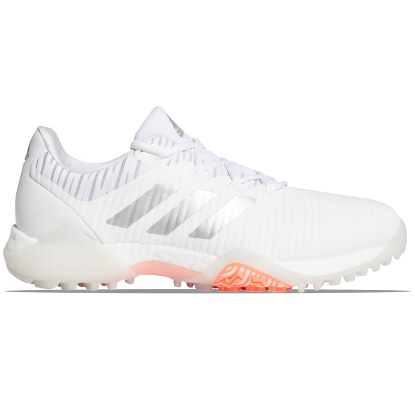 Womens CODECHAOS Shoes White/Silver/Signal Coral - AW21 0