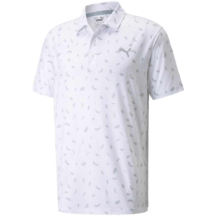 Cloudspun Feathers Polo Bright White/High Rise - AW21 0