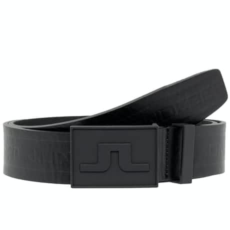 Logo Belt Pro Leather Black - AW19