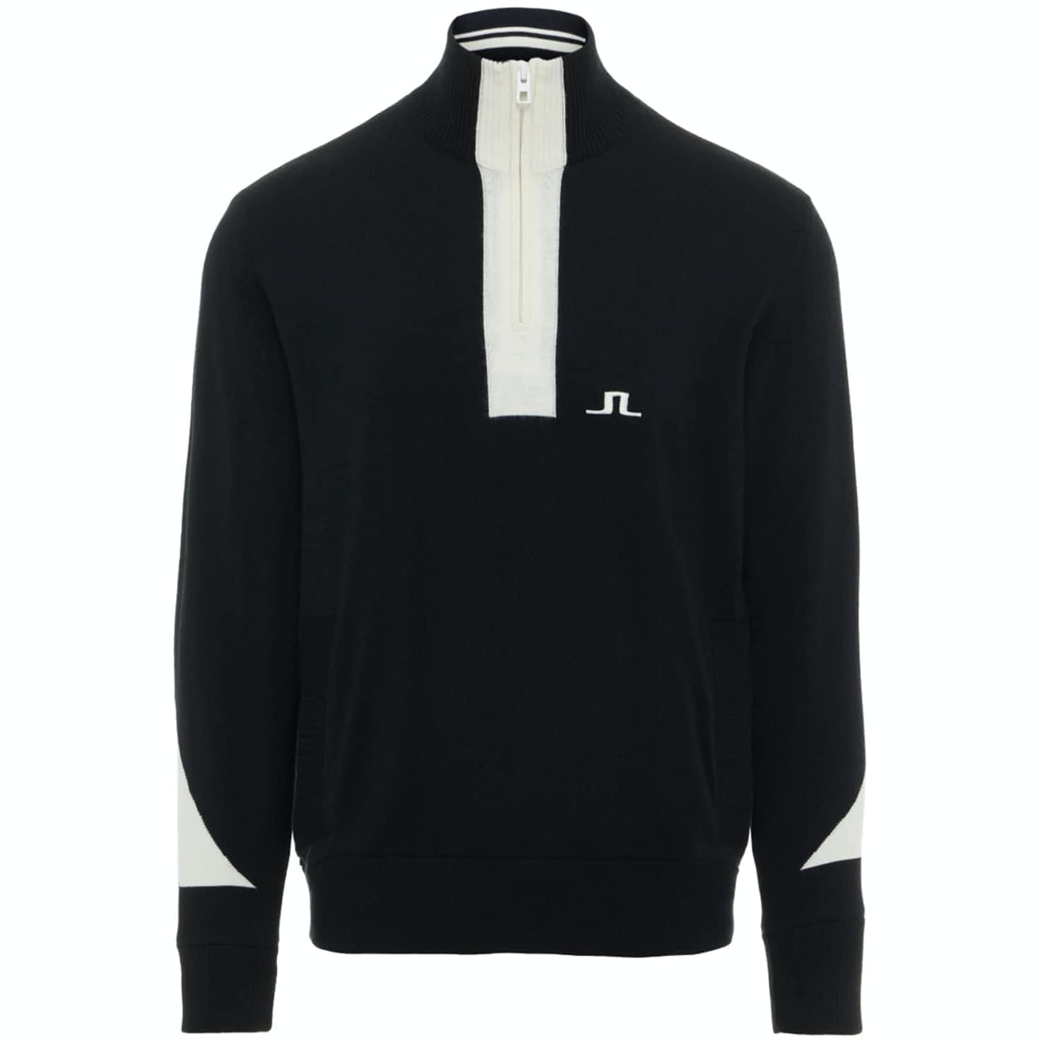 Gen Quarter Zip Merino Wool Coolmax Black - AW19