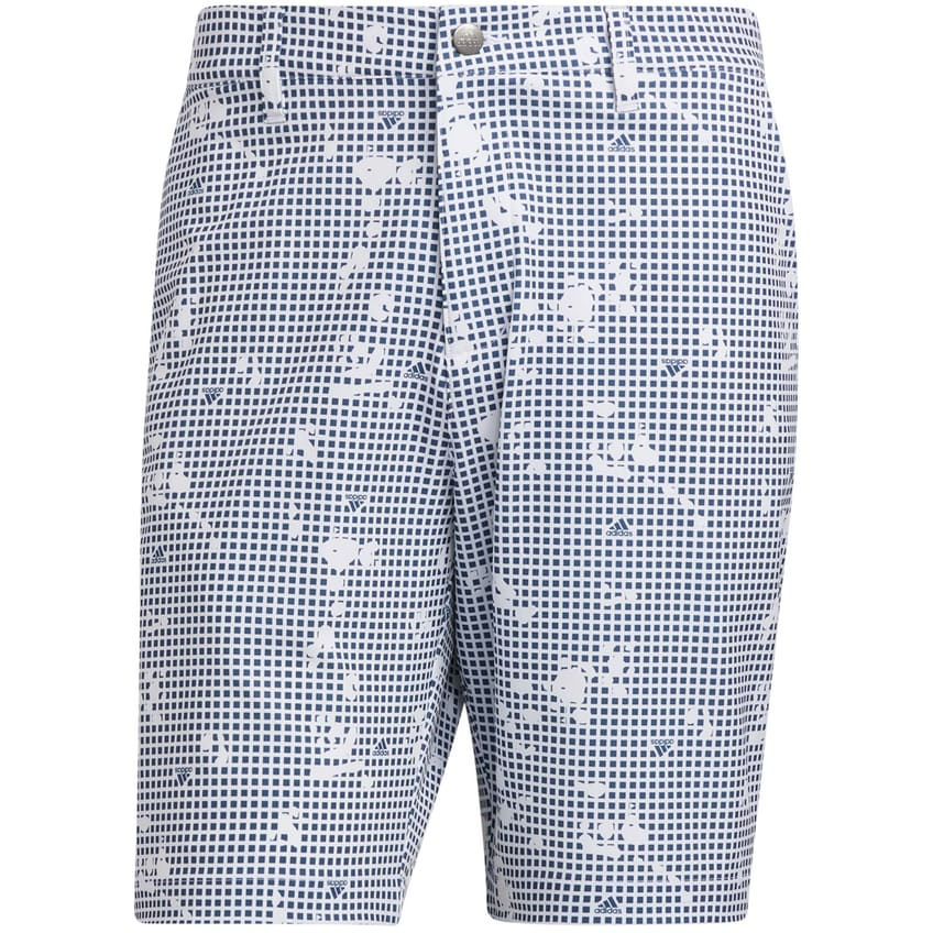 Ultimate365 Print Short White - AW21 0