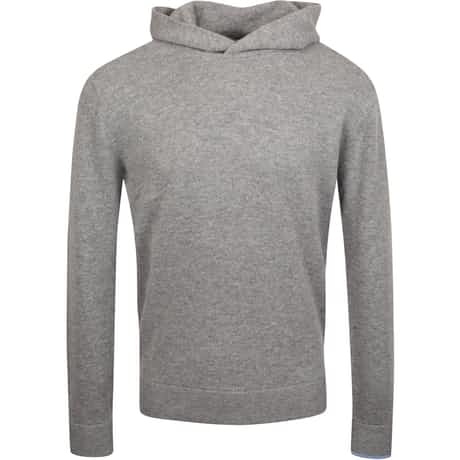 Koko Cashmere Hooded Sweater Smoke Heather - AW19