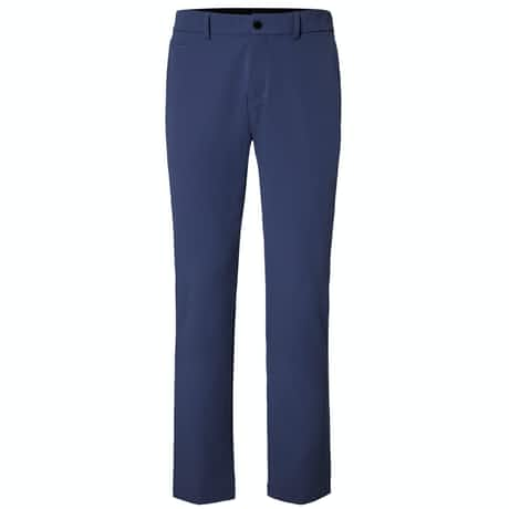 Ike Tailored Fit Warm Pants Atlanta Blue - AW19