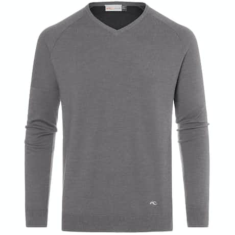 Freelite Kulm V-Neck Pullover Steel Grey Melange - 2020