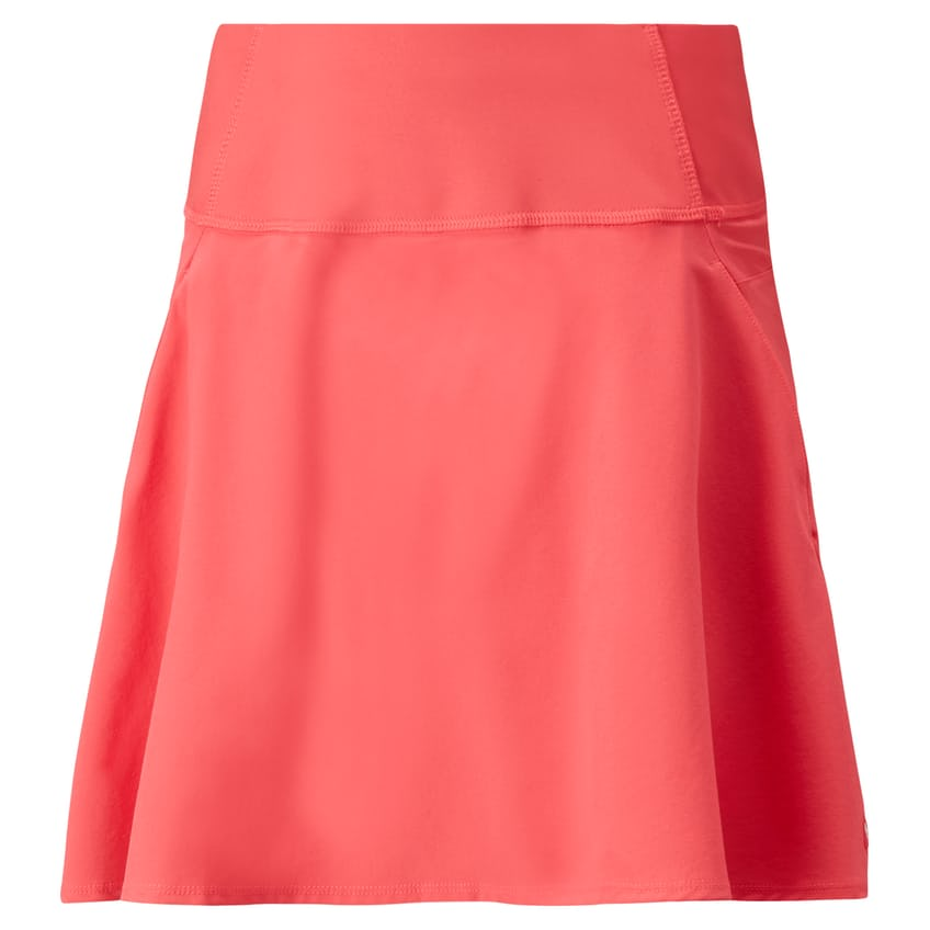 Womens PWRSHAPE Solid Woven Skirt Teaberry - AW21 0